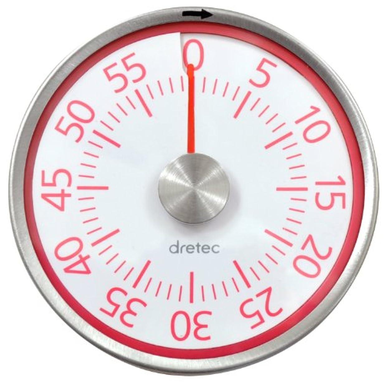 ステートメント絵カメDRETEC〔ドリテック〕ダイヤルタイマー T-315 ピンク