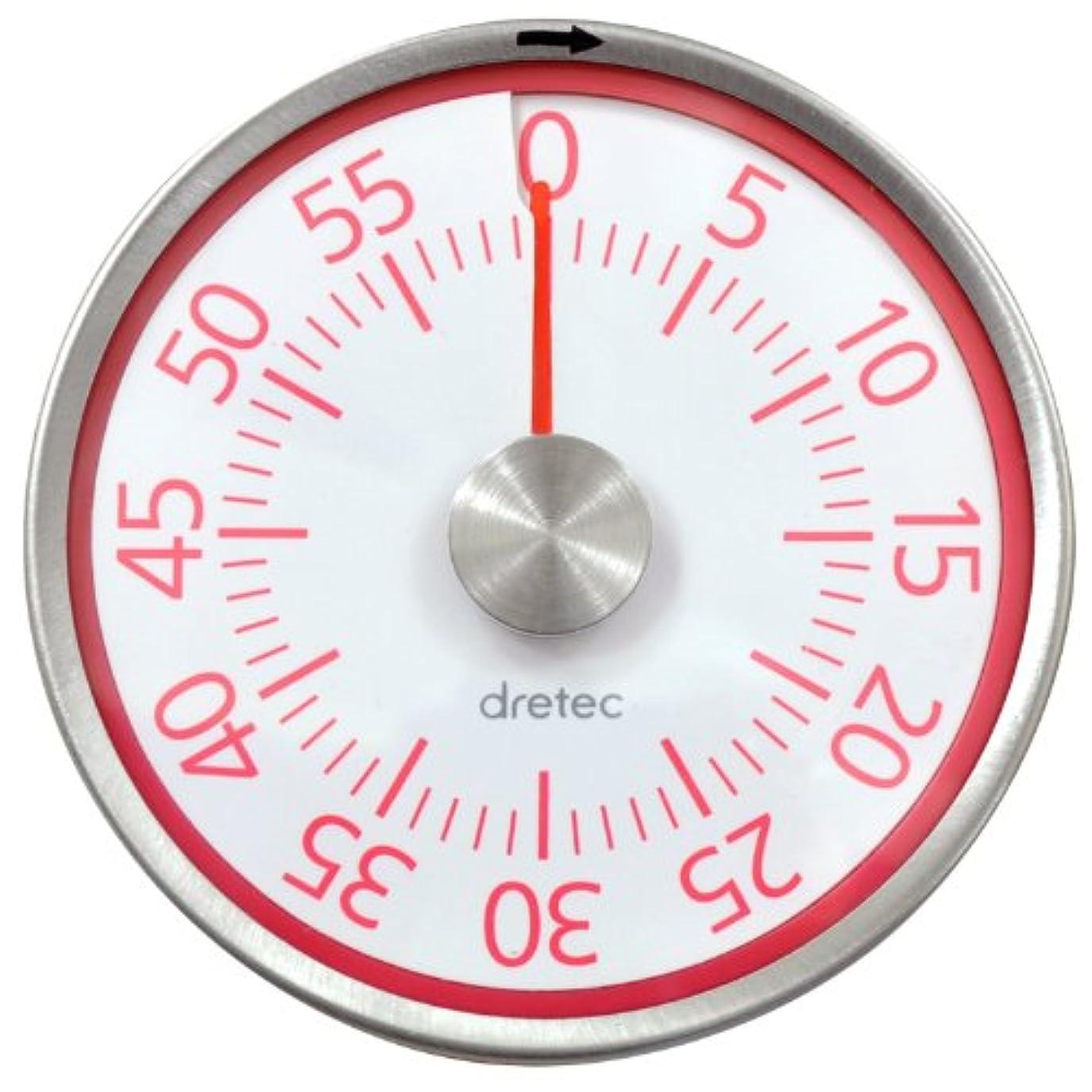 正当化するブラジャー包帯DRETEC〔ドリテック〕ダイヤルタイマー T-315 ピンク