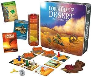 Gamewright 【禁断の砂漠】Forbidden Desert 缶箱入り