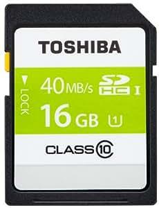 2枚セットSDHC カード 東芝 16GB class10 UHS-I 並行輸入品