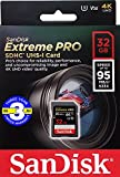 SanDisk サンディスク Video Speed Class対応 SDHC カード 32GB Extreme Pro UHS-I 超高速U3 V30 Class10 4K対応【 3年保証 】 [並行輸入品] (V30 32GB)