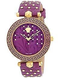 [ヴェルサーチ]VERSACE 腕時計 VANITAS パープル文字盤 ステンレス(PGPVD)ケース VK7120014 レディース 【並行輸入品】