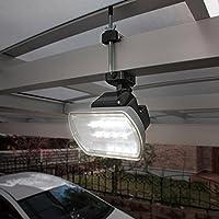 明るい!人感センサー付LEDライト 乾電池式(400ルーメン) 603925