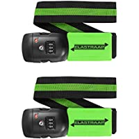 Luggage Strap ELASTRAAP Superior Strength Non-Slip with TSA Combination Lock