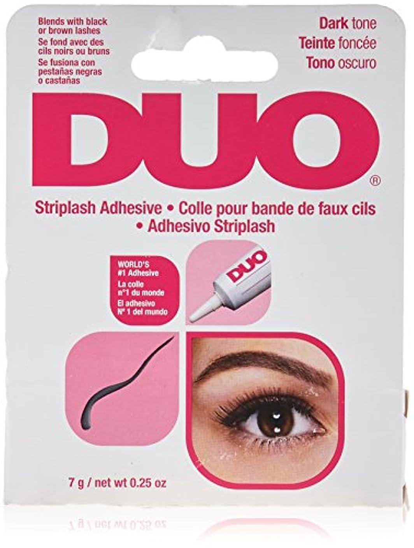 リム調べるマスタードDUO Eyelash Adhesive - Dark Tone (並行輸入品)