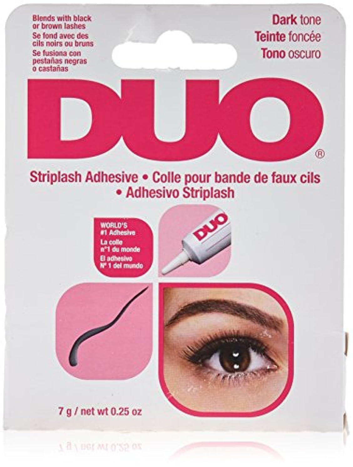 かみそりハーフ雰囲気DUO Eyelash Adhesive - Dark Tone (並行輸入品)