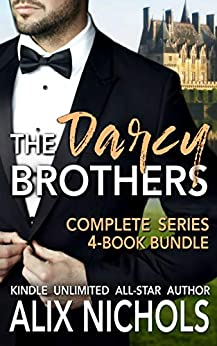 The Darcy Brothers - A Complete Series Box Set: (Humorous Contemporary Romance) by [Nichols, Alix]