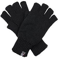 Dents Men's Half Finger 3M Thinsulate Knit Fingerless Gloves