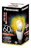 パナソニック LED電球 電球60W形相当 密閉形器具対応 口金直径26mm  電球色相当(10.0W) 一般電球・クリアタイプ LDA10LCW