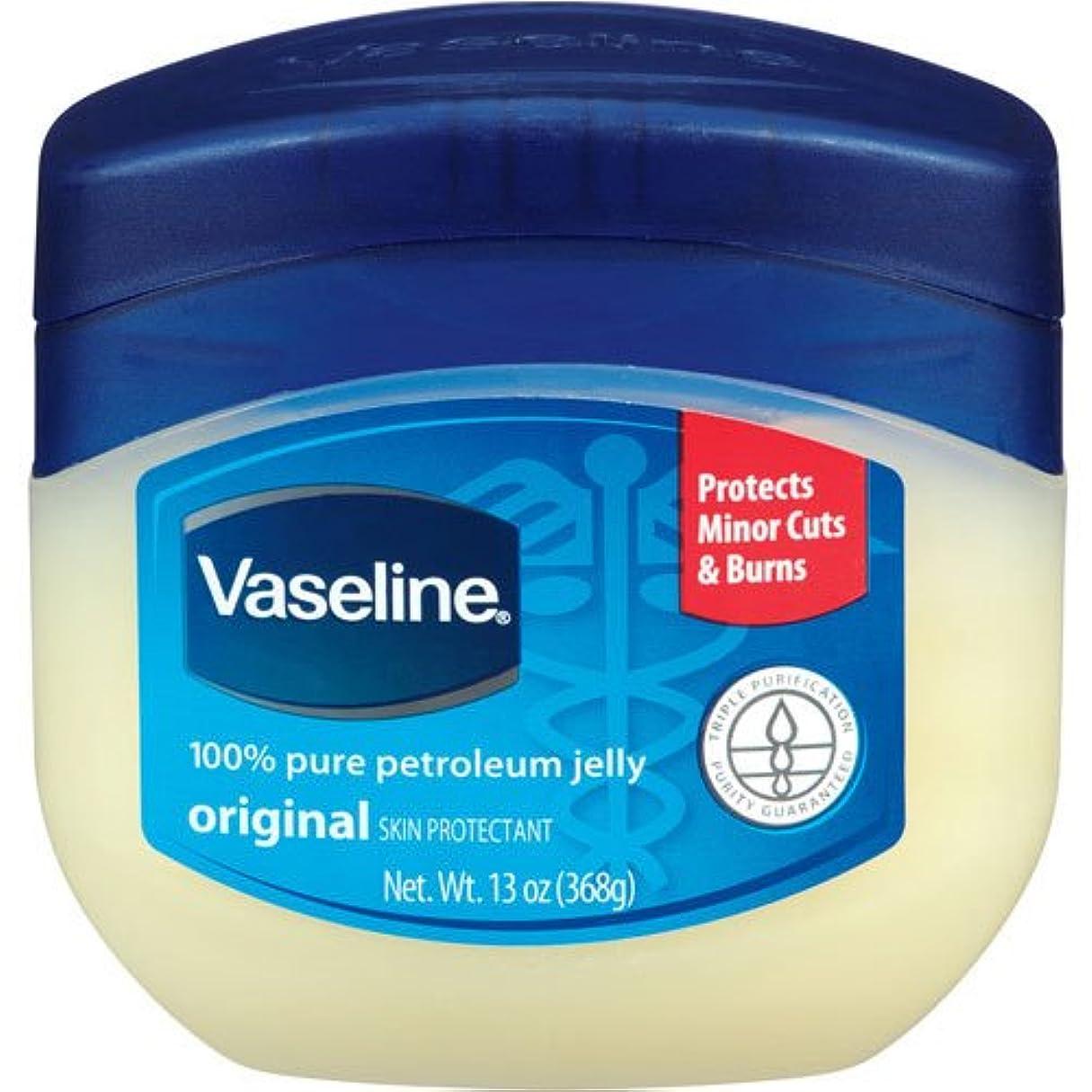ブランド退化する恥ずかしいヴァセリン [Vaseline]ペトロリュームジェリージャータイプ[保湿クリーム]368g[並行輸入品]