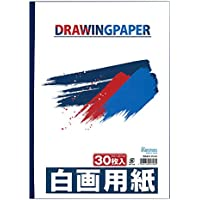 エヒメ紙工 天糊白画用紙 B4サイズ ETG-B4 30枚