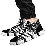 メンズ アウター ハイカット スニーカー メンズ ペイズリー 総柄 シューズ 靴 厚底 シークレット 人気