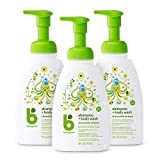 Babyganics Baby Shampoo & Body Wash, Chamomile Verbena, 473ml (Pack of 3)