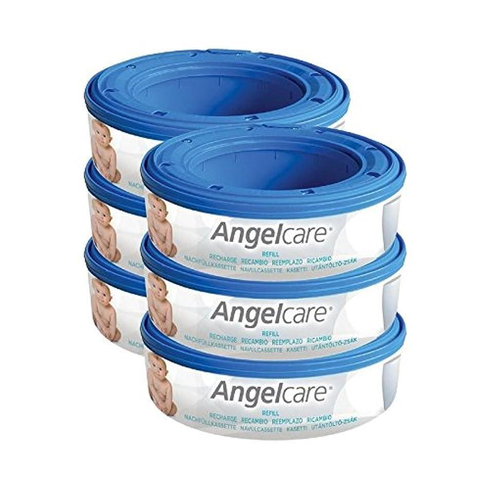 大量厳密にプレゼント1パックリフィルカセット6 (Angelcare) (x 4) - Angelcare Refill Cassettes 6 per pack (Pack of 4) [並行輸入品]