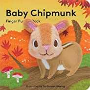 Baby Chipmunk: Finger Puppet Book: (Finger Puppet Book for Toddlers and Babies, Baby Books for First Year, Ani