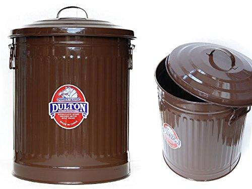 RoomClip商品情報 - [DULTON]ダルトン Garbage can M 100-106-BR2 ガーベッジカン ゴミ箱 バケツ