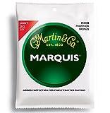 Martin マーチン アコースティックギター弦 Marquis Phosphor Bronze M-2100 .012-.054 ライト 【国内正規品】