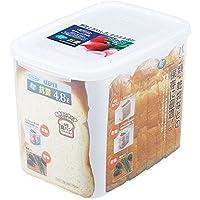 岩崎 食品保存容器 クリア 4.8L フレッシュキーパー パンケース B-1727