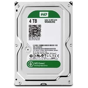 WD 内蔵HDD Green 4TB 3.5inch SATA3.0(SATA 6 Gb/s) 64MB Intellipower 2年保証 WD40EZRX