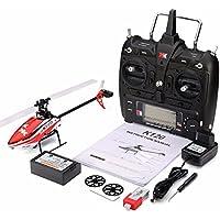 RaiFu RCヘリコプター ラジコンヘリコプター XK K120 シャトル 6CH ブラシレス 3D 6Gシステム RTF