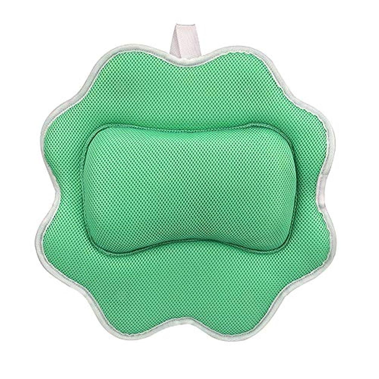 耕す船台無しにサンフラワーバスピロースパマッサージ枕用アップグレード5 dエアーメッシュ技術あなたの肌と首を保護、洗濯機で洗えます
