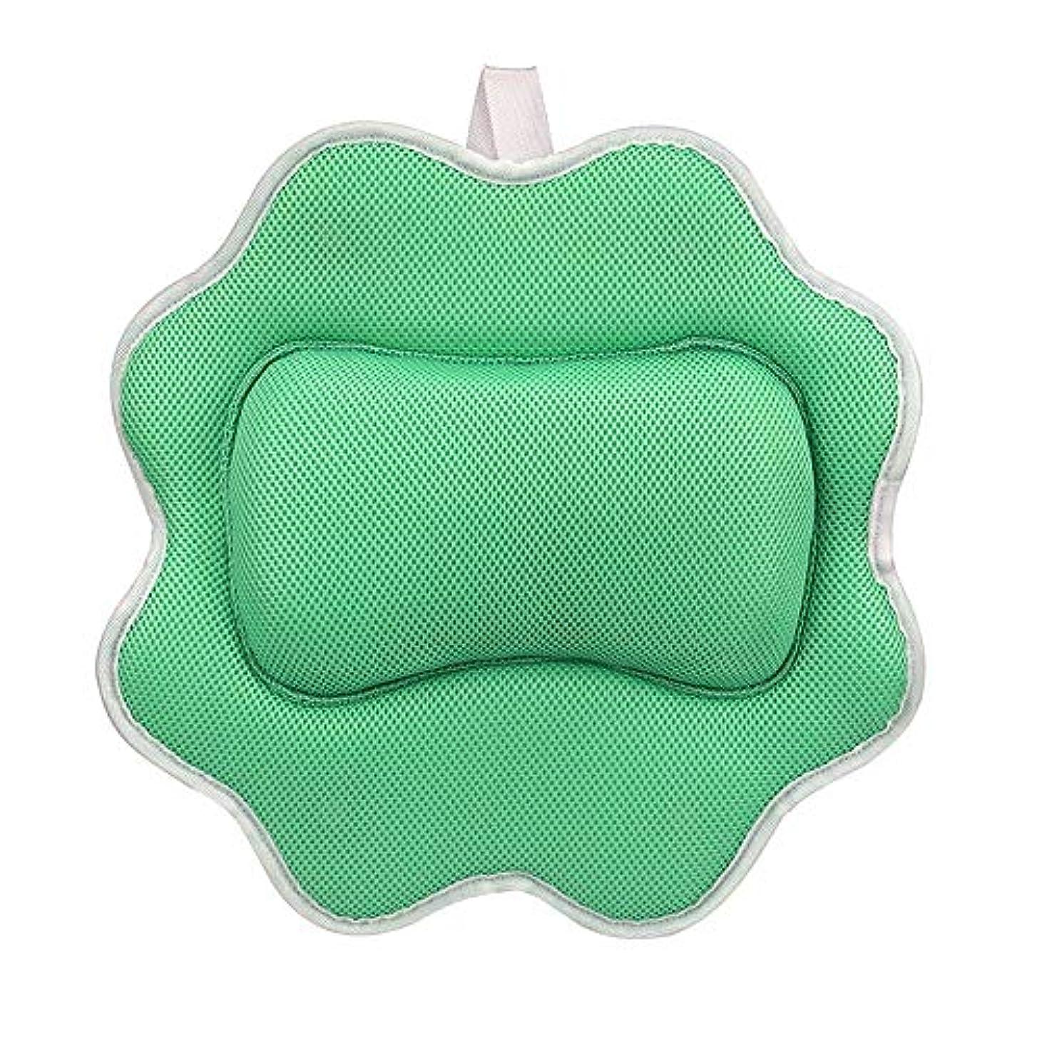 親密な無一文半球サンフラワーバスピロースパマッサージ枕用アップグレード5 dエアーメッシュ技術あなたの肌と首を保護、洗濯機で洗えます