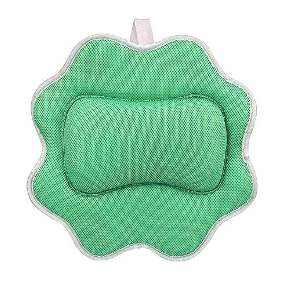標高軽蔑忠実サンフラワーバスピロースパマッサージ枕用アップグレード5 dエアーメッシュ技術あなたの肌と首を保護、洗濯機で洗えます