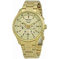 【セイコー】SEIKO Chronograph Mens Watch クロノグラフ Gold SKS592P1 【並行輸入品】