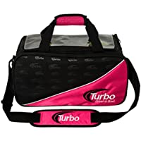 ターボ2ボールトートバッグBowling bag-ピンク/ブラック