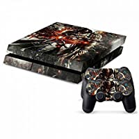 MODFREAKZ? Console and Controller Vinyl Skin Set - Action Hooded Assasin for Playstation 4 [並行輸入品]