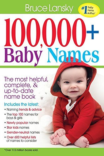 100,000+ Baby Names: The most helpful, complete, & up-to-date name book (English Edition)