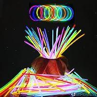 ビーポーラ(BPOLER) 蛍光ブレスレット 200本セット 10色 各20本