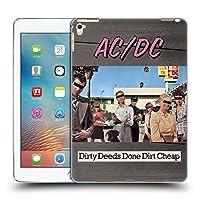 オフィシャル AC/DC ACDC ダーティ・ディード アルバムカバー iPad Pro 9.7 (2016) 専用ソフトジェルケース