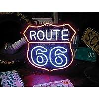 ネオンサイン ルート66 ROUTE66 ネオン管 ネオンライト 店舗照明 ガレージ アメリカン雑貨