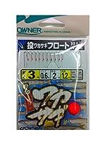 OWNER(オーナー) W-925 投ワカサギフロート10本鈎 3-0.6