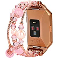 Replacement Straps Bracelet/Band for Fitbit Ionic Smart Fitness Watch for Women or Girls