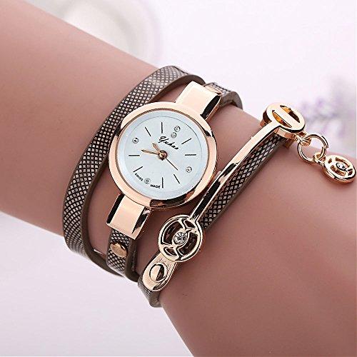 腕時計 レディース 7色 綺麗な 絡み合...