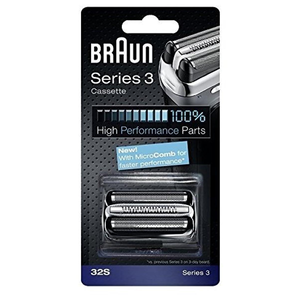 強化ダブル機知に富んだBraun 32S シリーズ3コンビ 32S 置換カセット [並行輸入品]