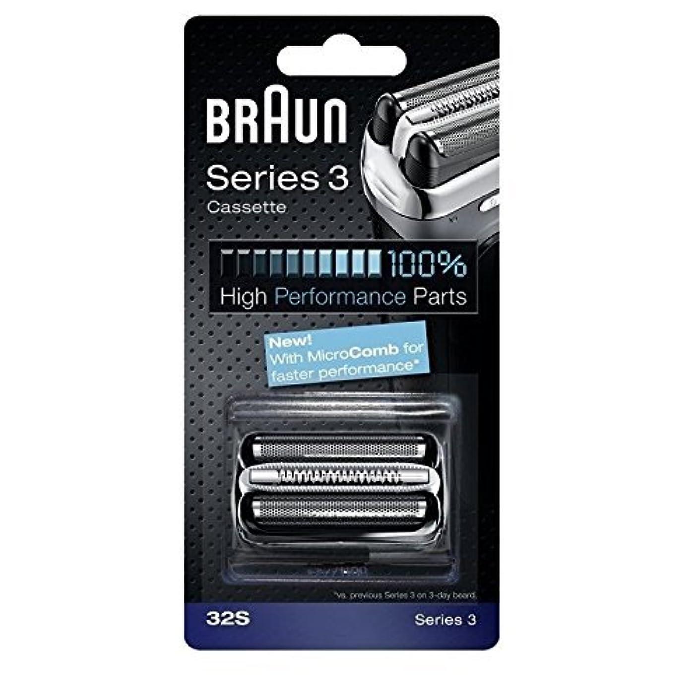 軽蔑率直な速記Braun 32S シリーズ3コンビ 32S 置換カセット [並行輸入品]