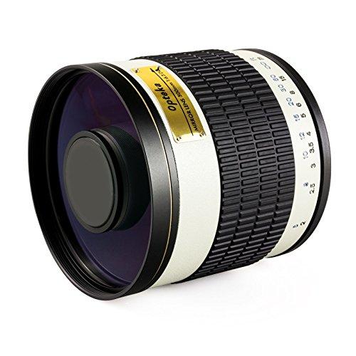 Opteka 500mm f / 6.3HD望遠ミラーレンズfor Nikon 1j5, Nikon 1j4, j3, j2, s2, s1, v3, v2, v1、aw1コンパクトミラーレスデジタルカメラ