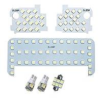 3チップSMD6点ラクティス NCP100系 LEDルームランプ