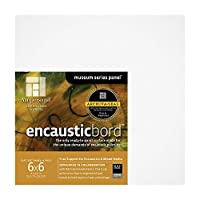 Encausticbord 1/8 Inch - 6x6 Inch Pack of Four [並行輸入品]