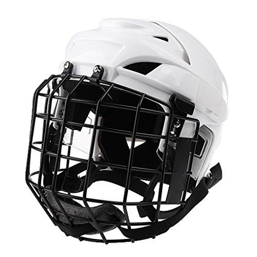 Perfeclan 全2色 男女兼用 高品質 アイスホッケー スノーボード ヘルメット フェイスマスク プロテクター