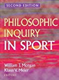 Philosophic Inquiry in Sport