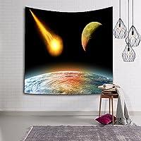 銀河の森の星タペストリー壁吊り宇宙銀河プリントタペストリー装飾,A,230*150CM