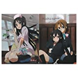 けいおん!! クリアファイル/澪(ナース服)、唯&梓 Animage2010年2月号付録
