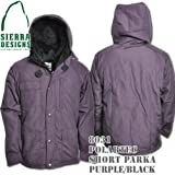 Polartec Short Parka 8031: Purple / Black