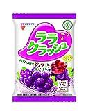 [トクホ]マンナンライフ 蒟蒻畑ララクラッシュぶどう味24g*8個×12袋