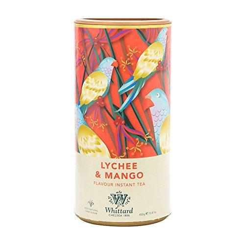 ウィッタード インスタントティー ライチ&マンゴー 450g Lychee & Mango Instant Tea