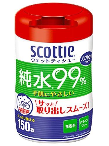 スコッティ ウェットティシュー 本体 150枚